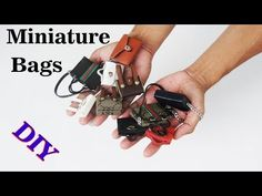 Doll bag | 4 Amazing DIY Miniature to do at home compilation crafts ideas - YouTube
