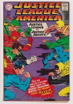 Justice League of America; Vol 1, 56, Silver Age Comic Book. VG (4.0). September 1967. DC Comics #justiceleague #crisis #wonderwoman #silveragecomics #comicsforsale