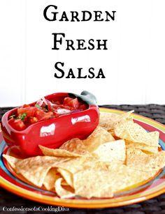 Garden Fresh Salsa Garden Fresh Salsa http://ift.tt/2wgaKS4; Recipe : http://ift.tt/1hGiZgA And @ItsNutella  http://ift.tt/2v8iUYW