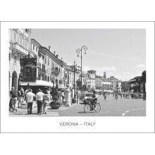 "Juliste ""Verona - Italy II"" Verona Italy, Street View"