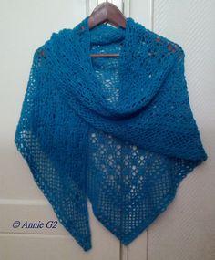 Zomerse sjaal, Van dit patroon is een Nederlandse beschrijving gemaakt