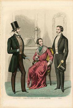 3 Victorian men