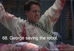 My Favorite Grey's Moments - Grey's Anatomy, that part was my favourite George omaily moment Grey's Anatomy, Grays Anatomy Tv, Greys Anatomy Memes, Grey Anatomy Quotes, Greys Anatomy Season 5, Best Tv Shows, Best Shows Ever, Grey Quotes, Dark And Twisty