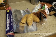 Living a Changed Life: Recipe Review: Crockpot Baked Potatoes