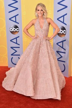 Carrie Underwood at the 2016 Country Music Awards