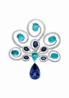 sapphire brooch, Gilan