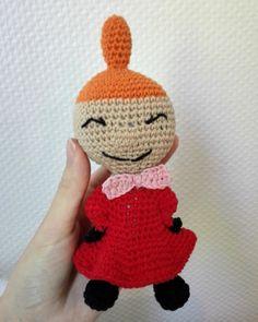 free pattern crochet moomin little my crochetpattern freepattern