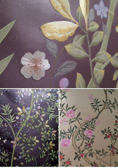Tim Butcher and Lizzie Deshayes established Fromental in 2005. London_Craft_Week_The_Craft_Of_Wallpaper_Geffrye_Museum_03
