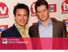 """Arrow"" Star John Barrowman Marries Boyfriend Scott Gill"