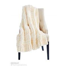 Here and There Crochet Blanket   Yarnspirations   Bernat Blanket   Free Pattern   Crochet