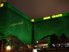 Mgm adds a beautiful emerald color to the strip
