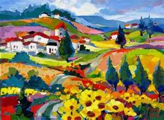 Isabel le Roux- favorite South African artist - her eyes see ... what my heart feels ...