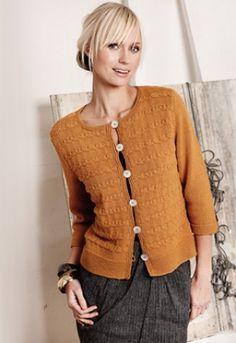 Familie Journal - strikkeopskrifter til hende Drops Design, Knitwear, Cardigans, Knitting Patterns, Knit Crochet, Handmade, Beautiful, Vests, Tops
