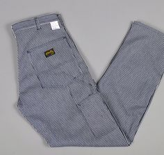 """""""STAN RAY"""" HICKORY STRIPE PAINTER PANTS :: HICKOREE'S"""