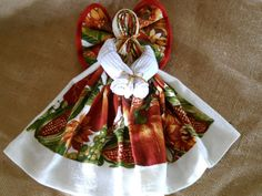 Harvest  Angel Dish Towel Angel Fall Angel by FarmCountryCrafts, $11.00 (thanks for this sister!)