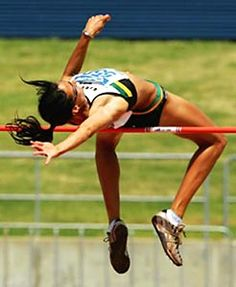 body in motion - high jump