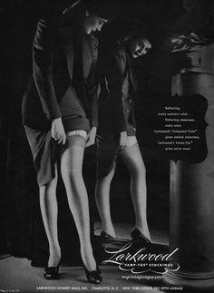 Larkwood Vamp-Toe Stockings 1944