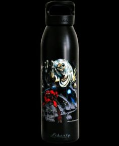 Iron Maiden Number of the Beast Water Bottle - I gotta get one of these!