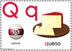 Asociamos los sonidos con las grafías convencionales - Letra Q -