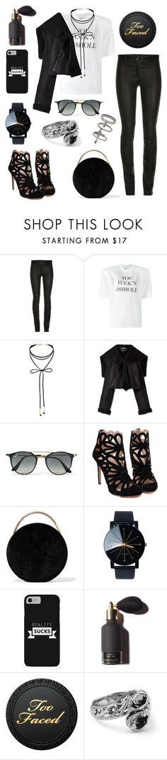 """Style amazing"" by fashionfabulosa ❤ liked on Polyvore featuring ElleSD, Vetements, Miss Selfridge, Ray-Ban and Eddie Borgo"
