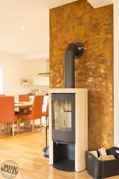 rostoptik rosteffekt dekowand in rost rostwand wand in rost rost lehmputz zuhause und. Black Bedroom Furniture Sets. Home Design Ideas