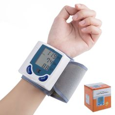 16.55$  Buy now - http://aliyfj.shopchina.info/go.php?t=32724905978 - Health Care Arm Blood Pressure Pulse Monitor Monitors High Quality Care Digital Upper Automatic Wrist Blood Pressure Monitor  #shopstyle