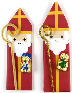 Add a crozier and teddy bear to our popular St. Nicholas candy bar wrappers--PDFs fit both US and UK candy bars