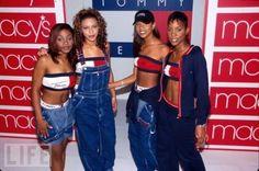 Remember when Destiny's Child had four Children? 90s-nostalgia