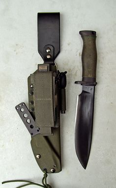 Sheaths for Knives: Technical Kydex.