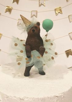Picnic Ideas Discover Princess Birthday Bear Cake Topper Grizzly Bear Cake Topper Ballerina Bear Cake Topper Animal Birthday Cake Topper Grizzly Bear In Tutu Animal Birthday Cakes, Bear Birthday, Birthday Cake Toppers, Princess Birthday, Birthday Party Themes, Birthday Wishes, Girl Birthday, Birthday Table, Diy Cake Topper
