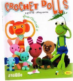JAPANESE CROCHET PATTERNCrochet Dolls 2 by Handicraft