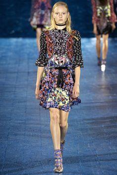 Mary Katrantzou Spring 2016 Ready-to-Wear Fashion Show - Maja Salamon