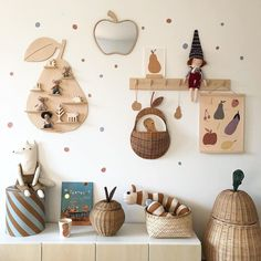 kids room in natural wood Pegboard Craft Room, Pegboard Display, Kitchen Pegboard, Craft Rooms, Ikea Pegboard, Painted Pegboard, Pegboard Garage, Pegboard Organization, Nursery Room