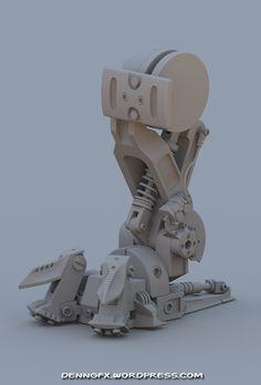 Robocop 2 - Robocain 04 W.I.P by Dennis Gomes