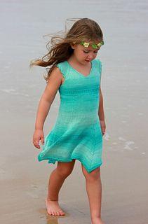 Moana dress, $6.60 on Ravelry