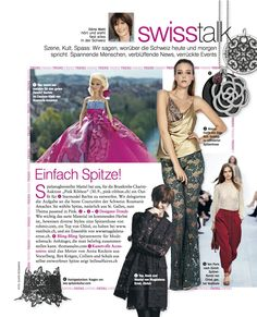 swisstalk freundin No 20/2012: Lace lace lace..... very seductive....