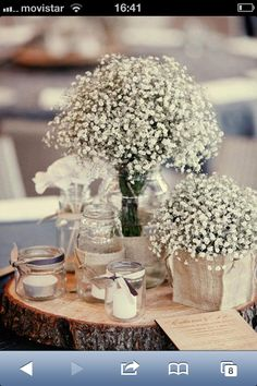 Rustic Wedding Centerpieces - Elegant and charming centerpiece tips. cheap rustic wedding centerpieces creative example data 9068464132 illustrated on this day 20181221 , Wedding Table Centerpieces, Flower Centerpieces, Wedding Decorations, Wedding Table Arrangements, Centerpiece Ideas, Chic Wedding, Wedding Events, Rustic Wedding, Wedding Ideas
