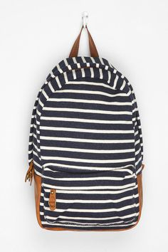 Carrot Stripe Backpack  #UrbanOutfitters