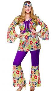 1b61a04de22 Fab plus size 60 s 70 s Hippie costume from only £21.95