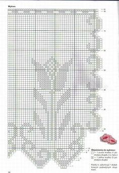 Crochet Knitting Handicraft: Curtains