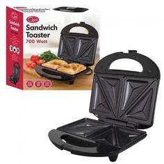 Quest Sandwich Maker 750 Watt Black 35120
