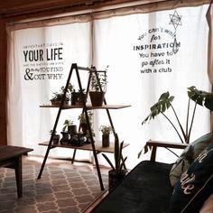 布にもステンシル!お手本にしたいフォントデザインと、やり方総集編 | RoomClip mag | 暮らしとインテリアのwebマガジン