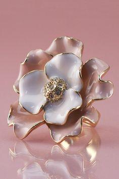 Pink Flower Ring on HauteLook