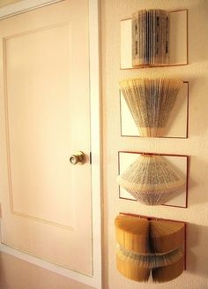 book art - would be great in my little library