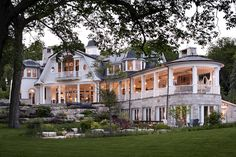 Shingle Style Home. Shingle Style Home Architecture. Shingle Style Home Exterior. Shingle Style Home Design. Shingle Style Home Ideas. Shingle Style Homes, Antebellum Homes, Luxury Interior Design, House Goals, My Dream Home, Exterior Design, Future House, Luxury Homes, Beautiful Homes