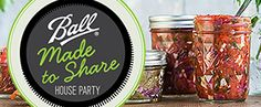 FREE Ball Canning Made to Share Party Pack (If You Qualify) on http://www.icravefreebies.com/