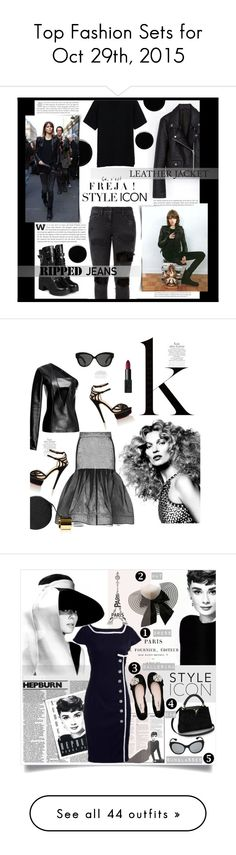 """Top Fashion Sets for Oct 29th, 2015"" by polyvore ❤ liked on Polyvore featuring Faith Connexion, yeswalker, Deborah Lippmann, styleicon, Anthony Vaccarello, Maticevski, Charlotte Olympia, Perrin, Linda Farrow and NARS Cosmetics"