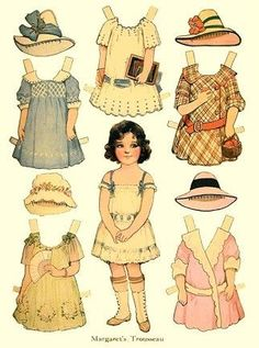 paper doll de notre enfance - Page 2