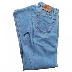 Blue Jeans LEVI'S (78 AUD) ❤ liked on Polyvore featuring jeans, pants, blue jeans, levi jeans and levi's