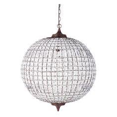 Lámpara de bola de metal Finon, diàmetre 60 cm, 179 €
